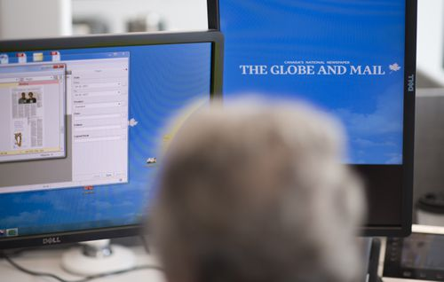 The Globe and Mail invests in technology
