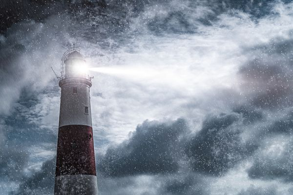 Data shines a light through the storm