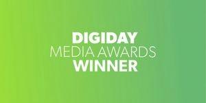 Digiday Media Award Winner 2021